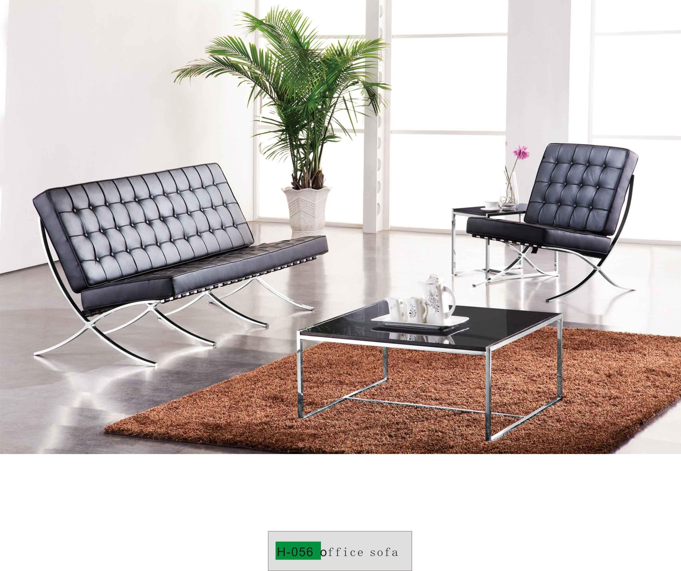 Steel Office Sofa Set H-056 - Buy high end office sofa ...
