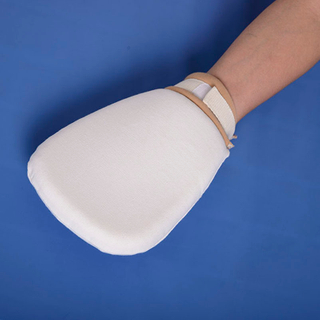 Soft seal medical old age civil air defense cupping restraint glove