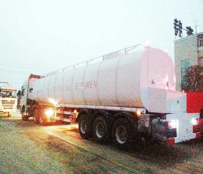 50,000 liters 3 axle bitumen insulation tank photo1
