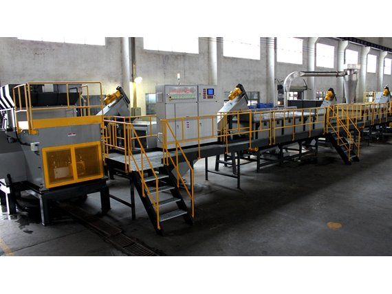 PP编织袋回收生产线