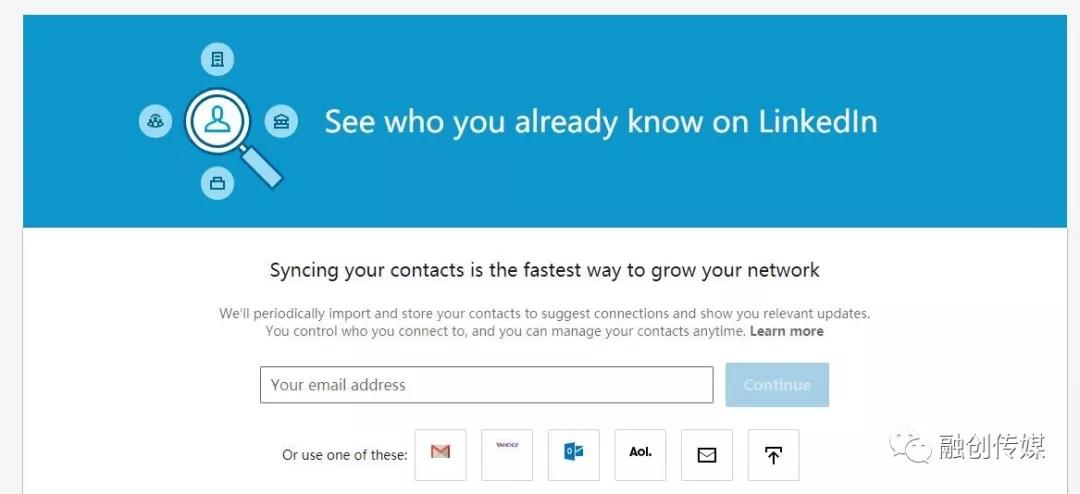 LinkedIn activation email contact