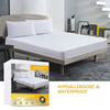 Queen Mattress Protector 100% Waterproof Mattress Pad Cover Breathable/Hypoallergenic/Vinyl Free